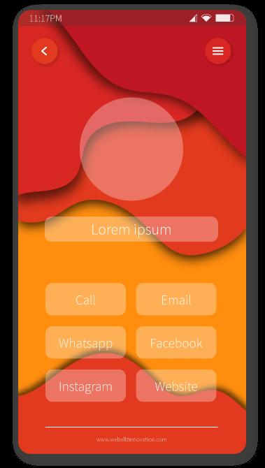 Red phone | Logo designer in Coimbatore
