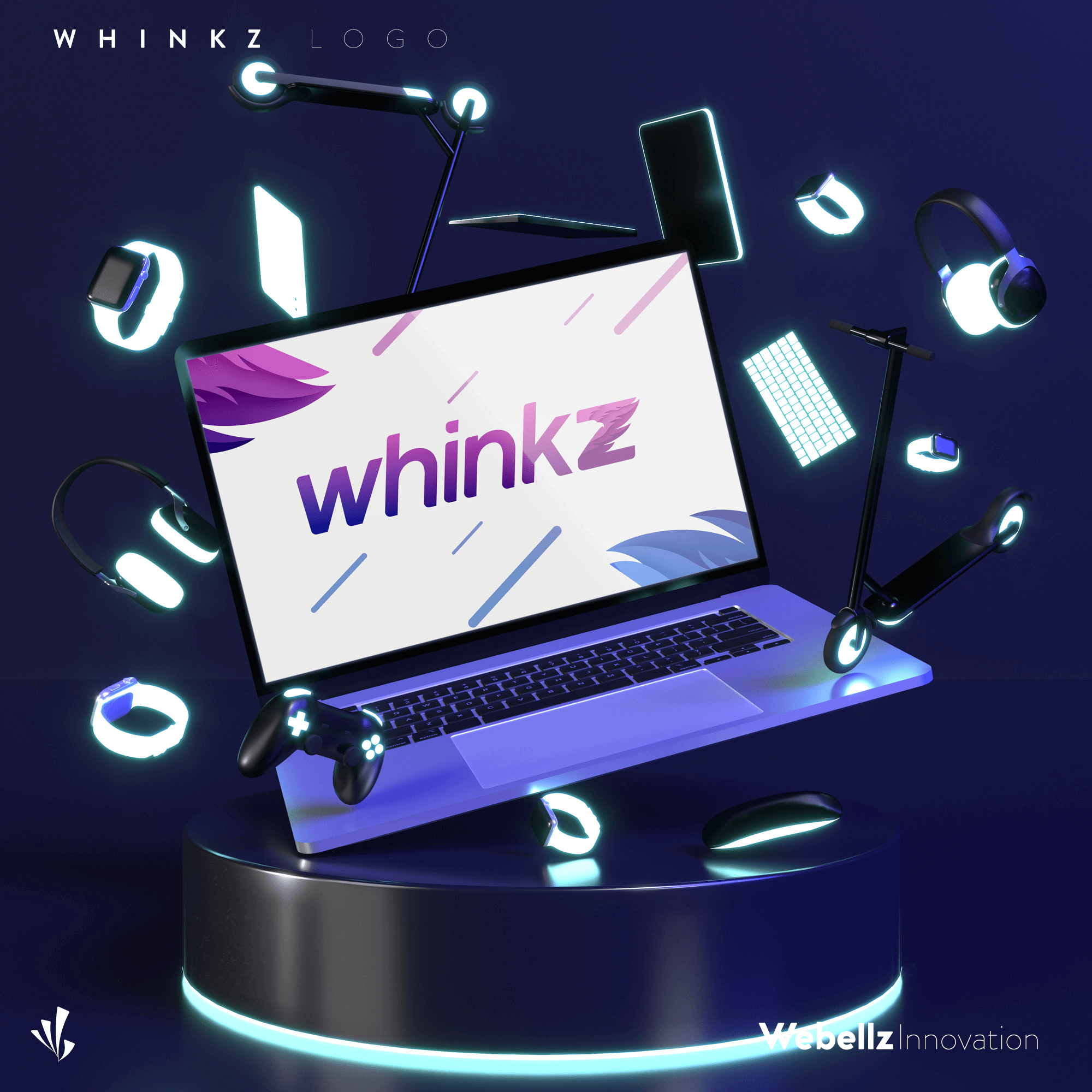 Whinkz forSM 003 | Logo designer in Coimbatore