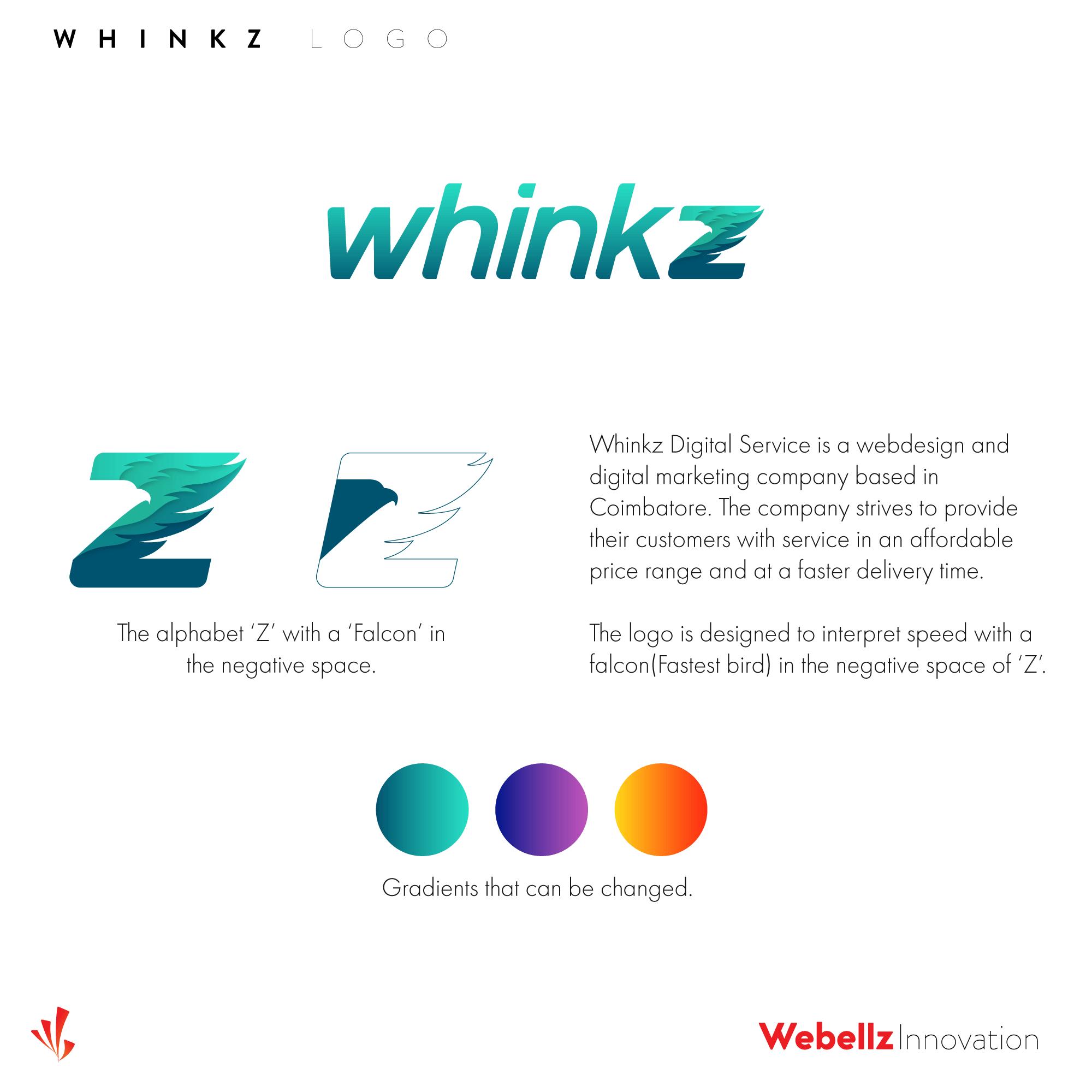 Whinkz forSM 004 | Logo designer in Coimbatore