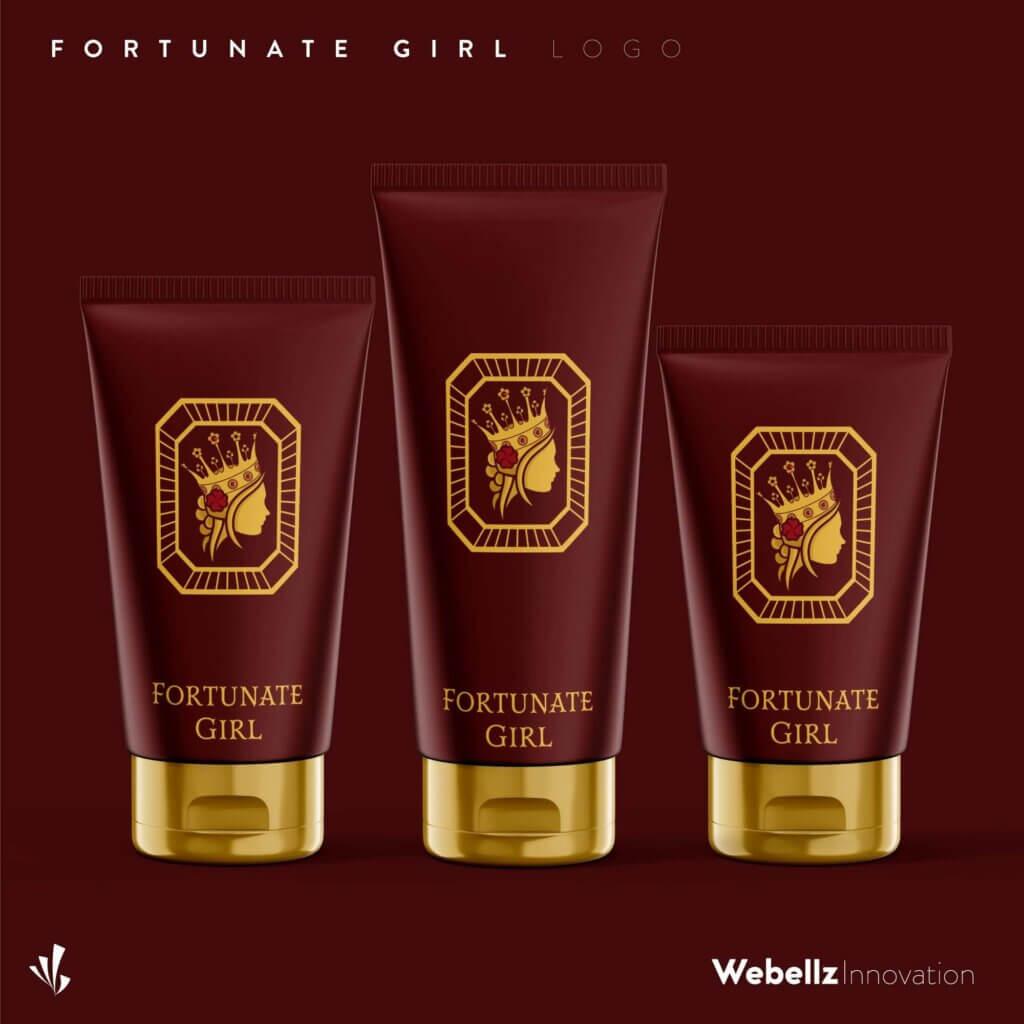 Fortunate Girl Social Media Post 01 | Logo designer in Coimbatore